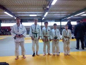 championnat d'académie de judo à Tours Mercredi 1er février 2017