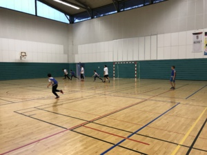 Match FUTSAL parents/profs contre élèves