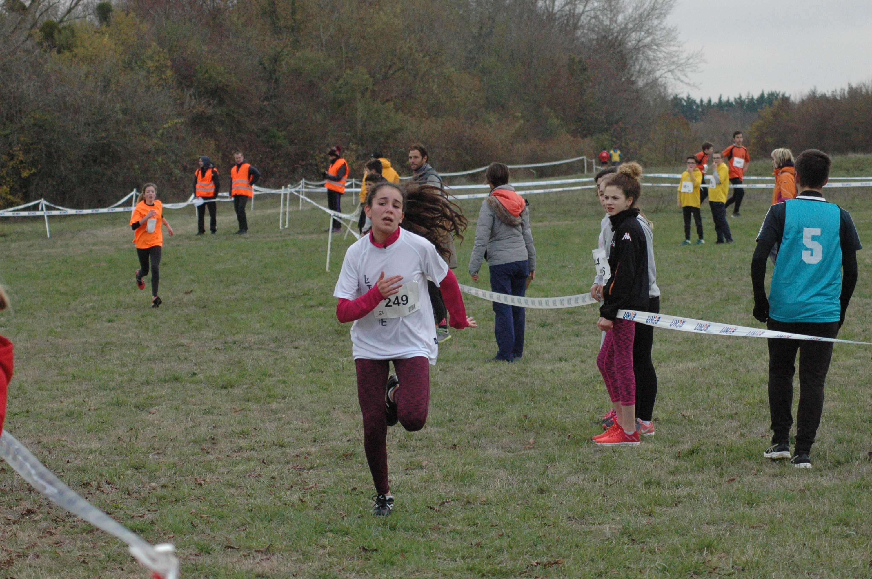 Championnats départementaux cross-country 21/11/2018