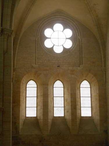 A l'abbaye de Noirlac