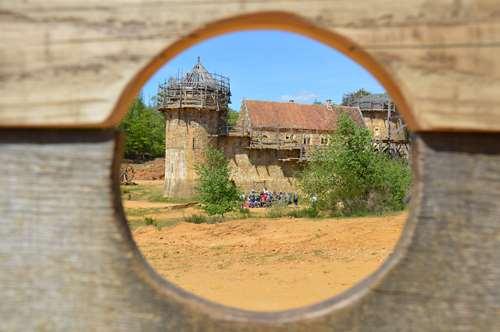 Construire un château comme au Moyen-Âge !