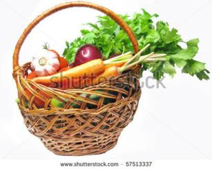 Jardinière de légumes pour 500 personnes