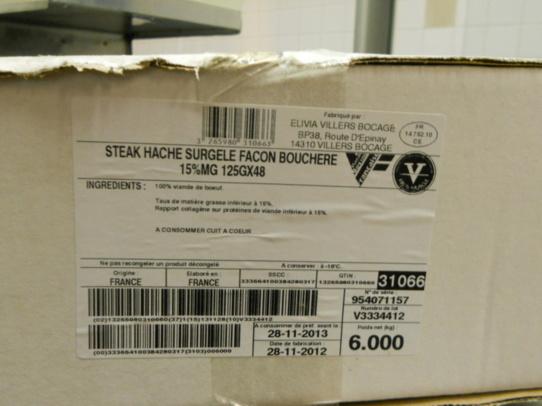 Traçabilité bavette et steak