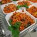 Salade de carotte au sésame,miel et gingembre